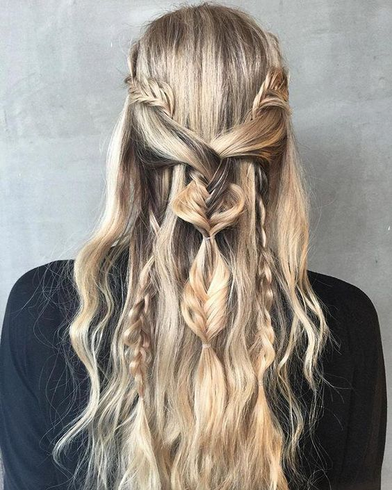 The Khaleesi Braids